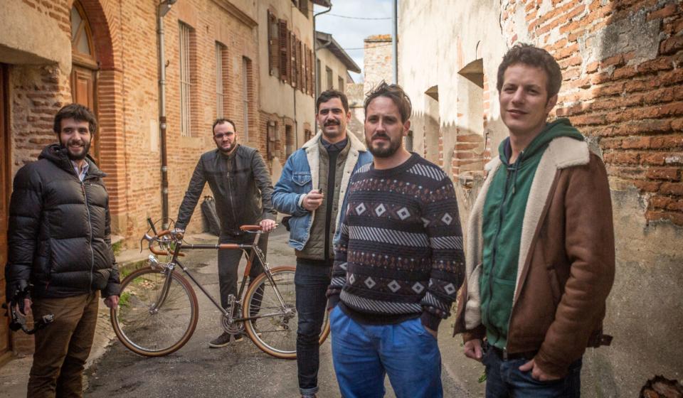 Backstage du tournage de la pub de Clic and Cycle